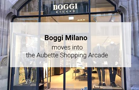 Boggi Milano moves into the Aubette Shopping Arcade